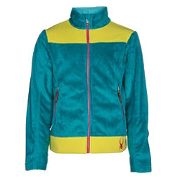 Spyder Core Caliper Girls Jacket, Bluebird-Acid-Voila, 256