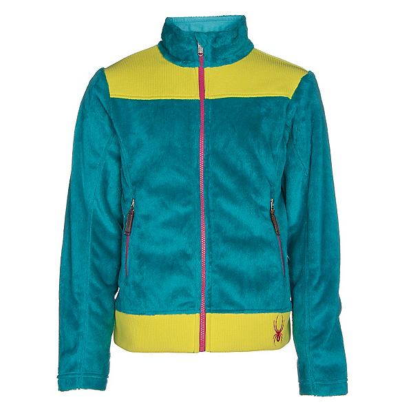 Spyder Core Caliper Girls Jacket, Bluebird-Acid-Voila, 600