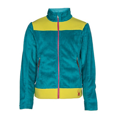 Spyder Core Caliper Girls Jacket, Bluebird-Acid-Voila, viewer