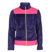 Spyder Core Caliper Girls Jacket, Pixie-Bryte Bubblegum-Acid, medium