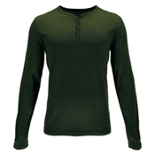 Spyder Steward Henley Mens Shirt, Albion Green, medium