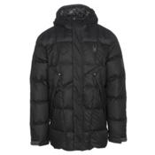 Spyder Diehard Parka Mens Jacket, Black-Polar, medium