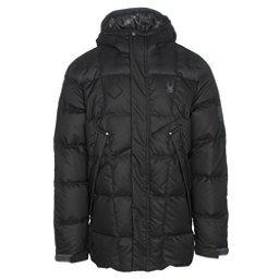 Spyder Diehard Parka Mens Jacket, Black-Polar, 256