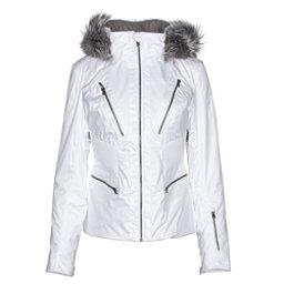 Spyder Posh Womens Insulated Ski Jacket, White, 256