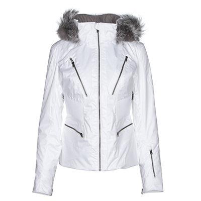 Spyder Posh Womens Insulated Ski Jacket, White, viewer