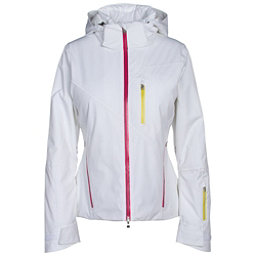 Spyder Fraction Womens Insulated Ski Jacket (Previous Season), White-Voila-Acid, 256