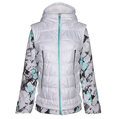 Spyder Moxie Womens Insulated Ski Jacket, Bling-Bling-Bling, viewer
