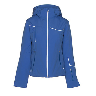 Spyder Project Womens Insulated Ski Jacket, Bling-White-White, viewer