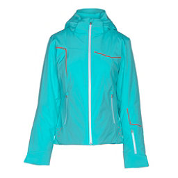 Spyder Project Womens Insulated Ski Jacket, Freeze-White-Burst, 256