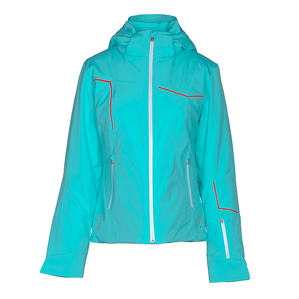 Spyder Project Womens Insulated Ski Jacket (Previous Season), Freeze-White-Burst, 600