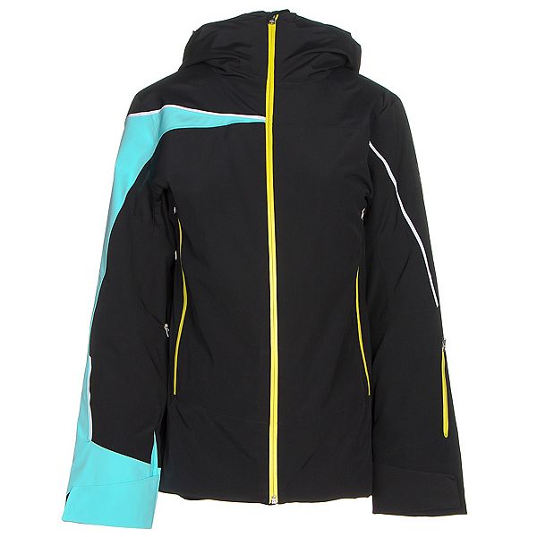Spyder Syncere Womens Insulated Ski Jacket, Black-Freeze-Acid, 600