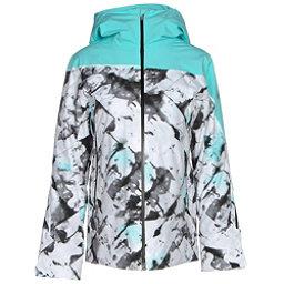 Spyder Syncere Womens Insulated Ski Jacket, Frozen Freeze Print-Freeze-Bla, 256