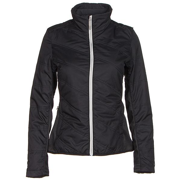 Spyder Glissade Womens Jacket, Black-Cirrus-Silver, 600