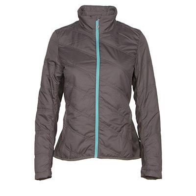 Spyder Glissade Womens Jacket, Black-Cirrus-Silver, viewer