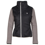 Spyder Exit Insulator Womens Vest, Black-Silver, medium