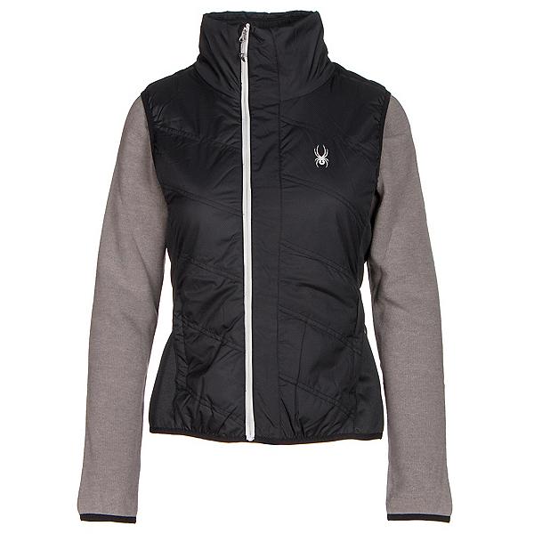 Spyder Exit Insulator Womens Vest, Black-Silver, 600