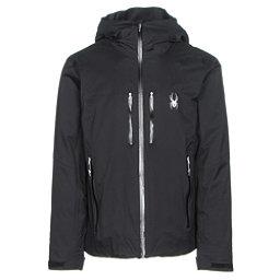Spyder Pryme Mens Insulated Ski Jacket, Black-Black, 256