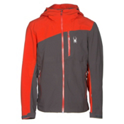 Spyder Jagged Mens Shell Ski Jacket, Polar-Rage, medium