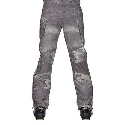 Spyder Empress Womens Ski Pants, Mountain Camo Weld Print-Acid, viewer