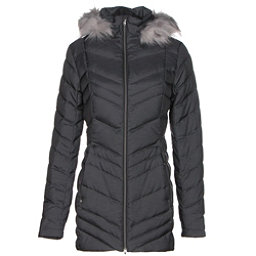 Spyder Timeless Long w/Faux Fur Womens Jacket, Black, 256