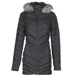 Spyder Timeless Long Faux Fur Womens Jacket, Black, 256