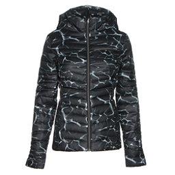 Spyder Timeless Hoody Womens Jacket, Waves Black Print-Black, 256