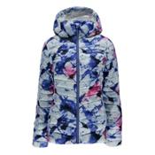 Spyder Timeless Hoody Womens Jacket, Frozen Bling Print-Bling, medium