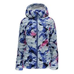 Spyder Timeless Hoody Womens Jacket, Frozen Bling Print-Bling, 256
