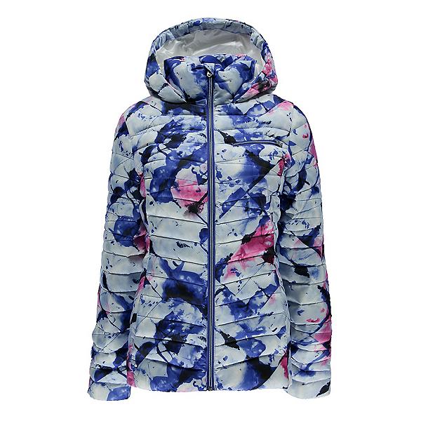 Spyder Timeless Hoody Womens Jacket, Frozen Bling Print-Bling, 600