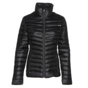 Spyder Timeless Down Womens Jacket, Black-Silver, medium