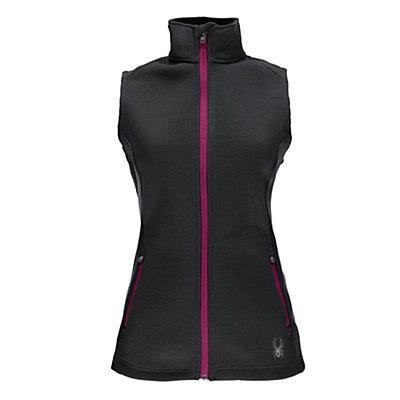 Spyder Melody Mid WT Womens Vest, Black-Black, viewer