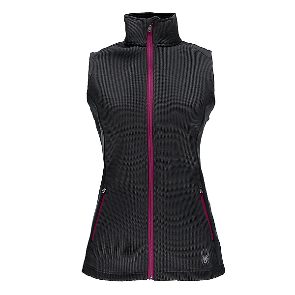 Spyder Melody Mid WT Womens Vest, Weld-Voila, 600