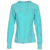 Spyder Caydence Full Zip Womens Hoodie, Freeze, medium