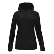 Spyder Caydence Full Zip Womens Hoodie, Black, medium