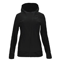 Spyder Caydence Full Zip Womens Hoodie (Previous Season), Black, 256