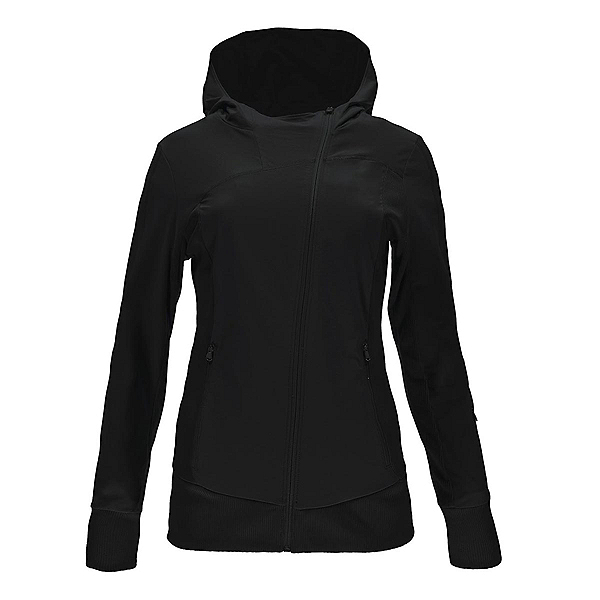 Spyder Caydence Full Zip Womens Hoodie, Black, 600