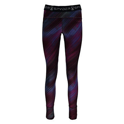 Spyder Spy-Dher Tight Womens Long Underwear Pants, Geo Rays Voila Print, viewer