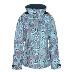 Burton Jet Set Womens Insulated Snowboard Jacket, Feathers, 256