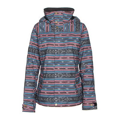 Burton Jet Set Womens Insulated Snowboard Jacket, Mood Indigo, viewer