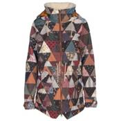 Burton Prowess Womens Insulated Snowboard Jacket, Kalidaquilt, medium
