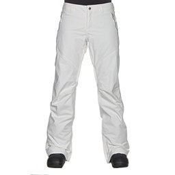 Burton Society Insulated Womens Snowboard Pants, Stout White, 256