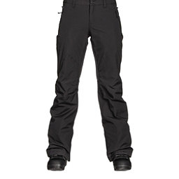 Burton Society Insulated Womens Snowboard Pants, True Black, 256