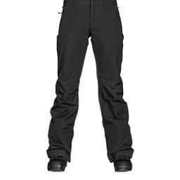 Burton Society Insulated Womens Snowboard Pants, True Black, 256
