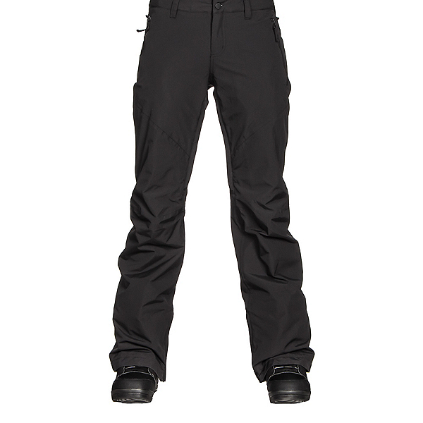Burton Society Insulated Womens Snowboard Pants, True Black, 600