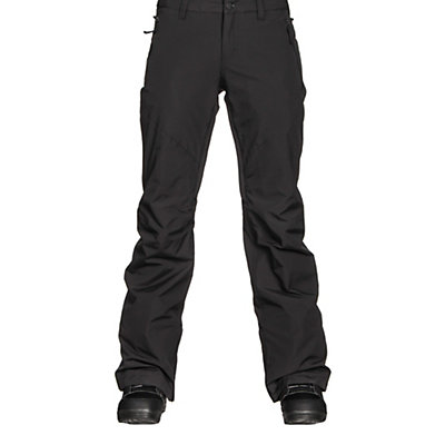 Burton Society Insulated Womens Snowboard Pants, True Black, viewer