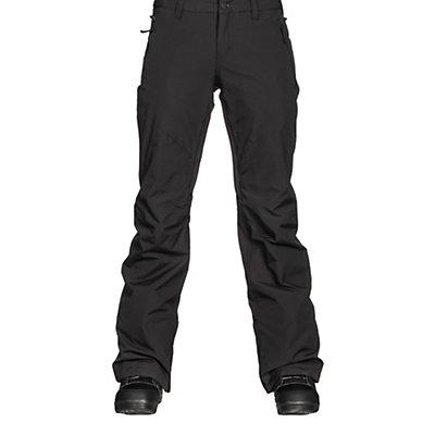 Burton Society Insulated Womens Snowboard Pants, True Black, viewer