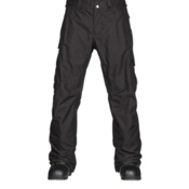 Burton Cargo Classic Fit Mens Snowboard Pants, True Black, medium