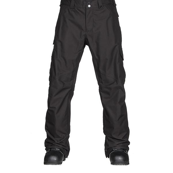 Burton Cargo Classic Fit Mens Snowboard Pants, True Black, 600