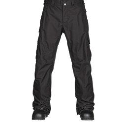 Burton Cargo Classic Short Mens Snowboard Pants, True Black, 256