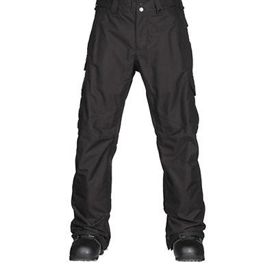 Burton Cargo Classic Short Mens Snowboard Pants, True Black, viewer